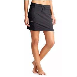 Athleta Trekkie Skirt Size 4 Black NWOT Skort